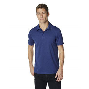 32 Degrees Techno Mesh Men's Blue Polo